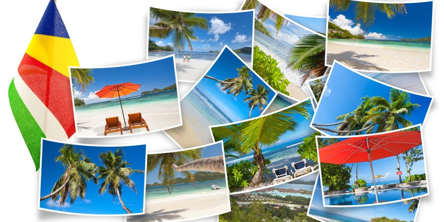 Collage delle Seychelles
